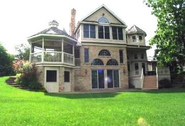 Five Gables Victorian Estate from Lake-1